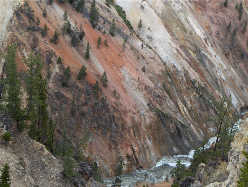 Usa Parchi dell'ovest, Grandi parchi americani, Yellowstone National Park, La tavolozza di colori dell'Artist Point