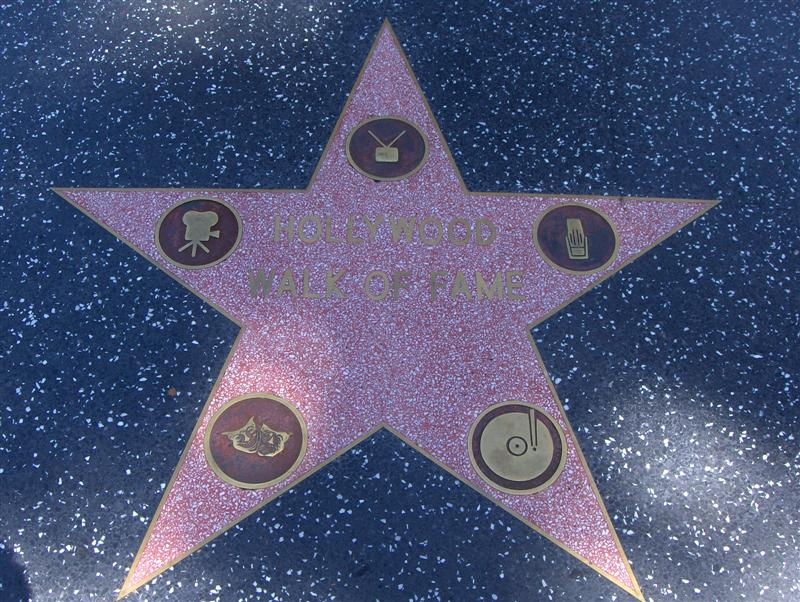 Usa Parchi dell'ovest, Los Angeles, Ed eccoci a percorrere la Walk of Fame, Hollywood